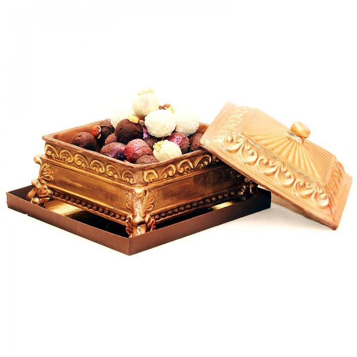 Шоколадная шкатулка своими руками